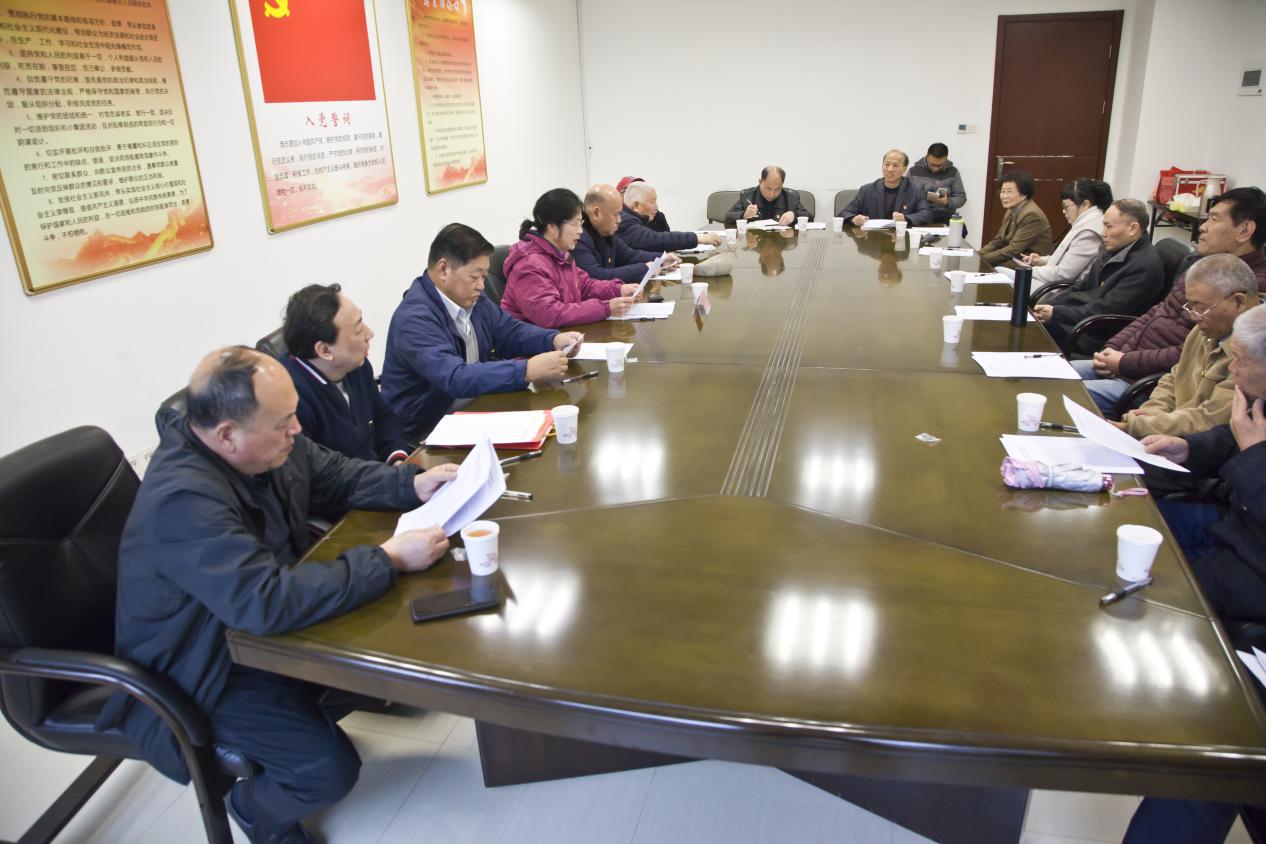 市外办组织召开机关离退休老干部座谈会