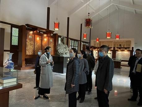 市外办赴长乐董奉草堂调研福州中医药文化对外交流工作