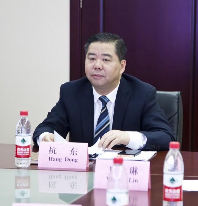 杭东副市长出席中南(非)工商界视频对话会